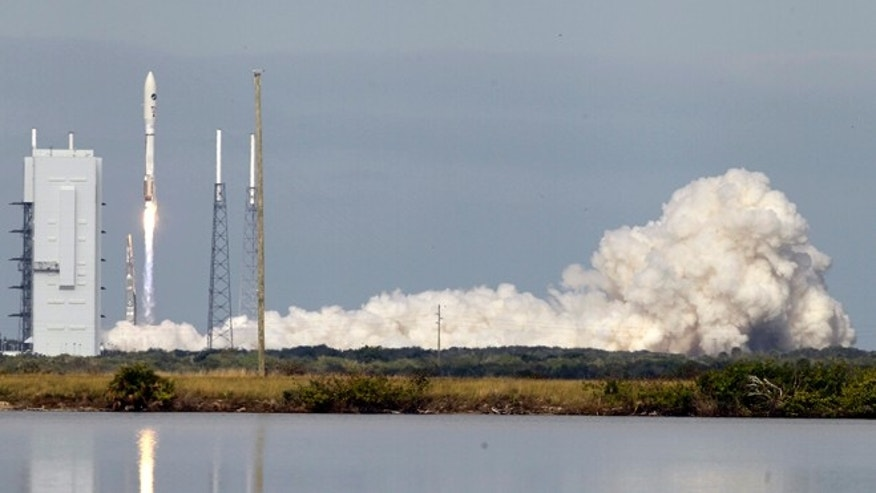 Dec. 11, 2012: A United Launch Alliance Atlas V rocket carrying an experimental robotic space plane lifts off from launch complex 41 at the Cape Canaveral Air Force Station, in Cape Canaveral, Fla.
