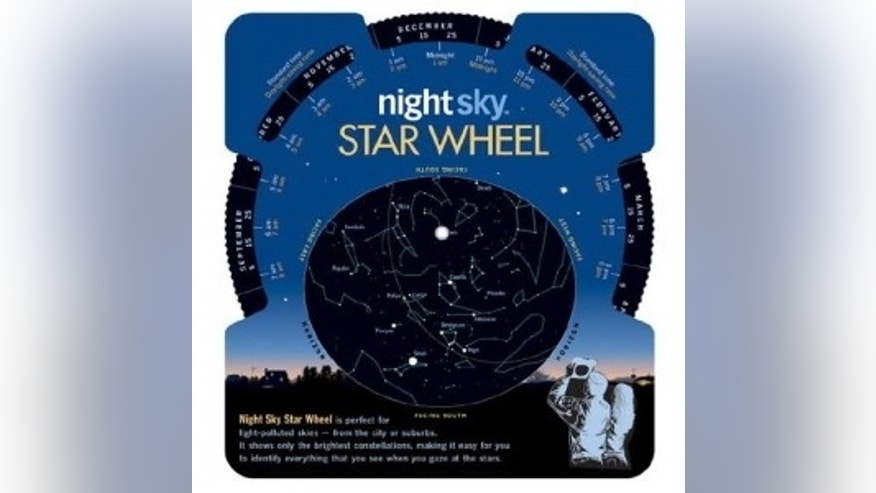 If you have trouble distinguishing the Big Dipper from Orion's Belt, the Night Sky Star Wheel is for you.
