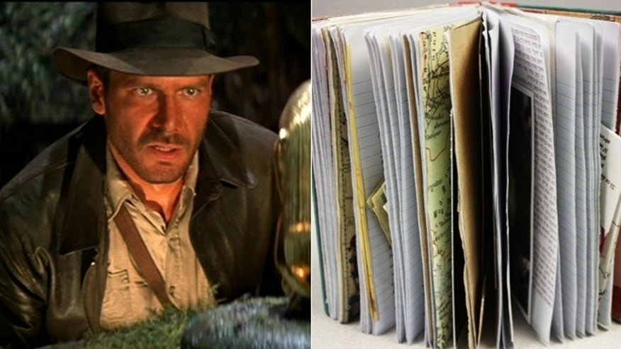 "The best possible explanation for an exact replica of the diary kept by Indiana Jones' mentor Abner Ravenwood in the iconic film ""Raiders of the lost ark""? ""This should be in a museum!"""