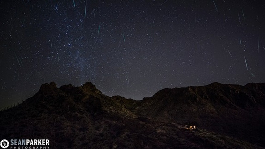"Astrophotographer Sean Parker captured this stunning shot — a composite of about 30 frames — just west of Tucson, Ariz., in the early hours of Dec. 13, 2012. ""This image took a lot of work, as I had to scroll through about 400 frames and find w"