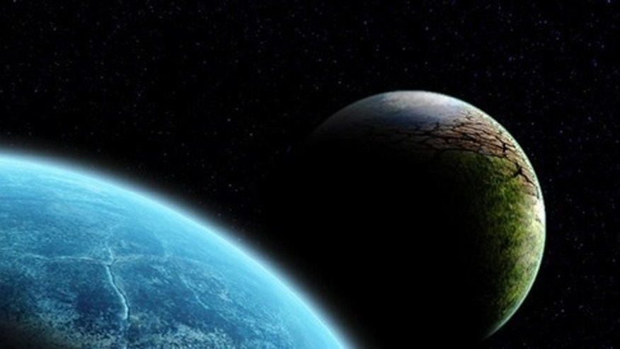 Artist's conception of the rogue planet Nibiru, or Planet X.