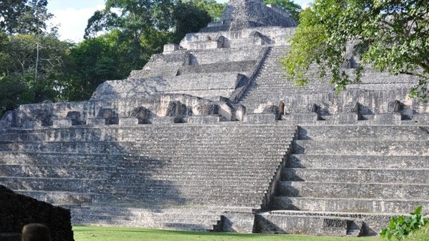 Mayan ruins in Belize.