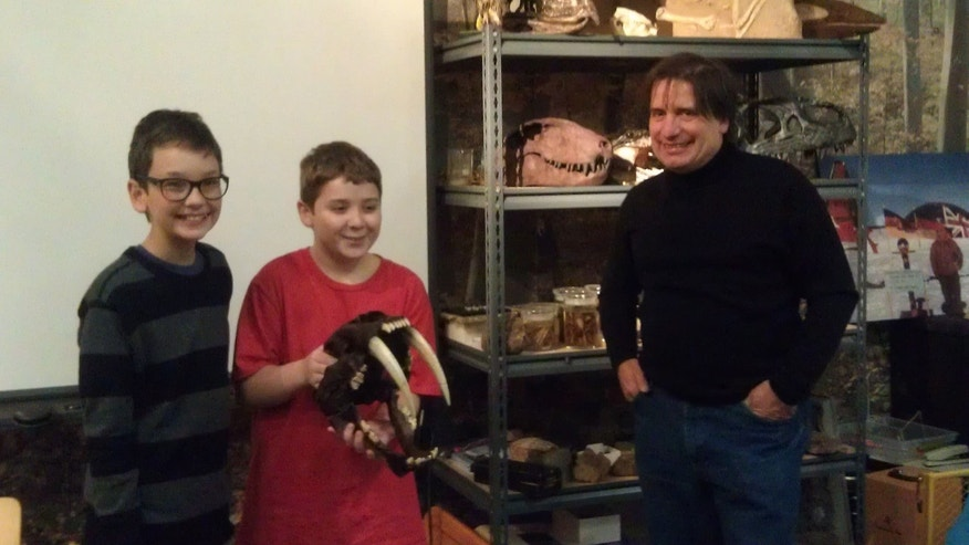 The boys' find even earned them a visit to Zawiskie's museum. (Courtesy: John Zawiskie)