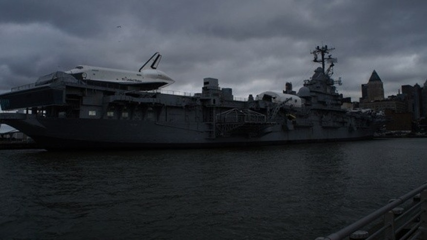 The Intrepid Sea, Air and Space Museum in New York City reopened today (Dec. 21) after being closed since Hurricane Sandy.