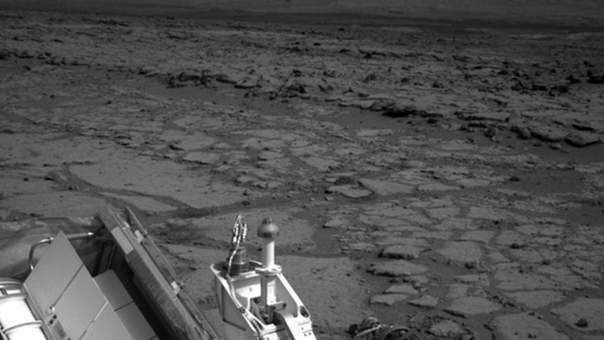 "Curiosity spent its first Christmas on Mars on ""Grandma's House,"" a previously unexplored part of Yellowknife Bay in the Gale Crater."