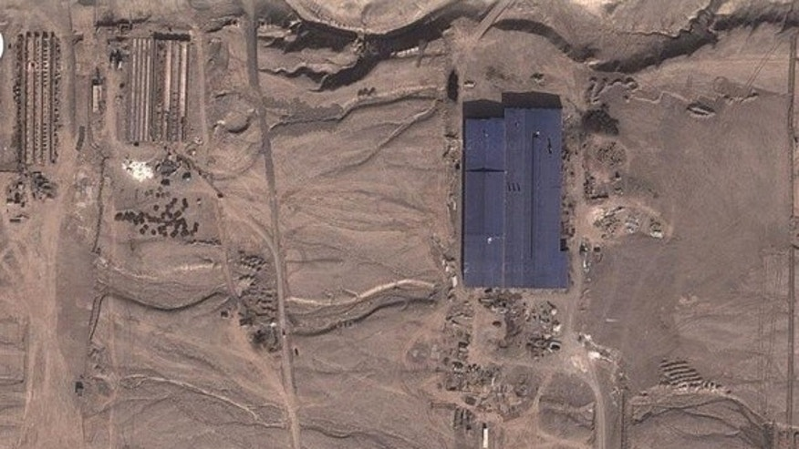 In 2011, an ex-CIA analyst found mysterious structures in satellite images of the Western Chinese desert. But the structures are probably related to commercial or industrial work, not secret military operations, experts say.