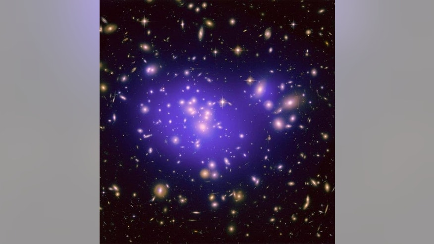 The galaxy cluster Abell 1689 is famous for the way it bends light in a phenomenon called gravitational lensing. A new study of the cluster is revealing secrets about how dark energy shapes the universe. <a href=http://www.space.com/scienceastr