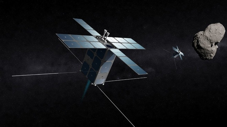 Deep Space Industries, Inc., plans to launch a fleet of prospecting spacecraft in 2015