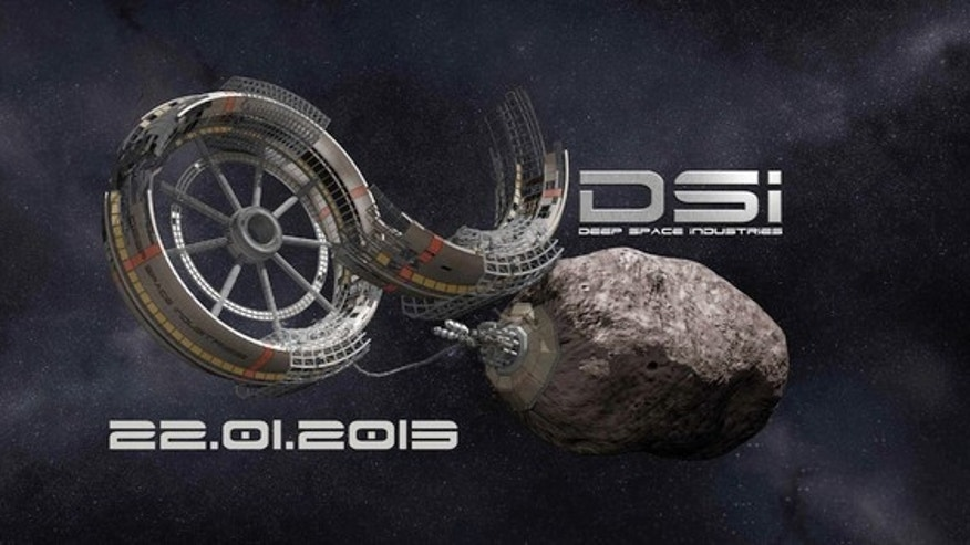 The new company Deep Space Industries Inc. plans to tap the many resources asteroids harbor.