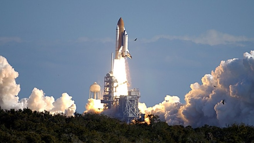 Jan. 16, 2003: Space shuttle Columbia launches on mission STS-107.