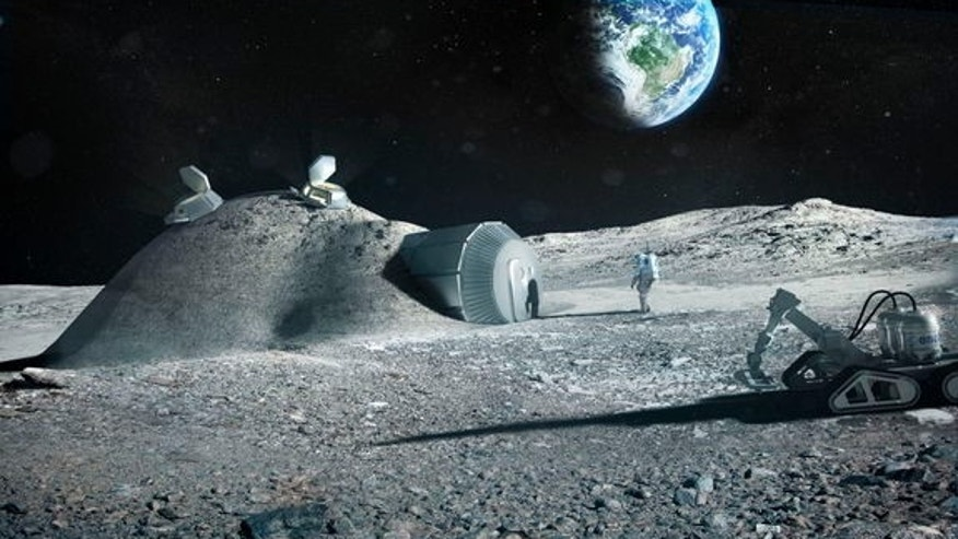 The European Space Agency and a consortium of industry professionals investigated the feasibility of using 3D printing to build a lunar base.