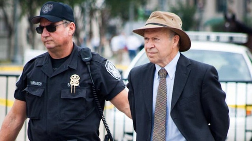 Aug. 29, 2011: NASA's leading climate scientist James Hansen, director of the Goddard Institute for Space Science, is arrested Monday outside the White House in a public protest over an oil pipeline.