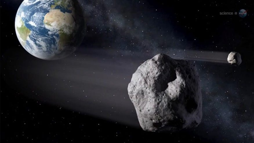 This is asteroid 2012 DA14's closest pass ever