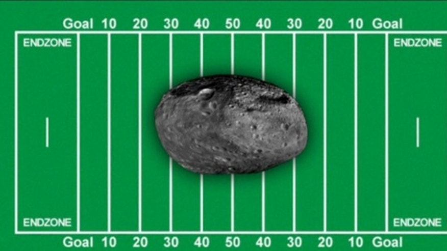 Football-field-sized asteroid buzzes past the Earth | Fox News