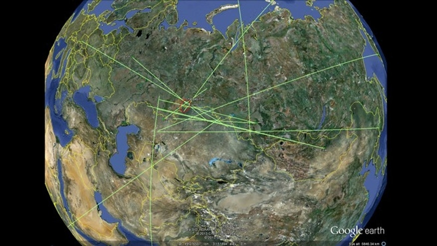 Eleven infrasound stations around the world recorded the meteor blast above Russian on Friday.