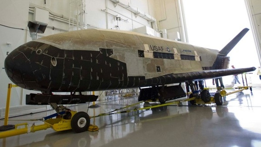Stretching 29 feet in length and weighing 11,000 pounds, the second Boeing-built X-37B became the longest on-orbit space vehicle on June 16, 2012 when it completed a 469-day mission with an autonomous landing at Vandenberg Air Force Station in