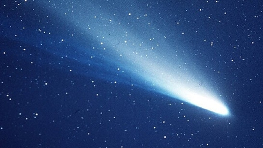 An image of Halley's Comet taken in 1986.