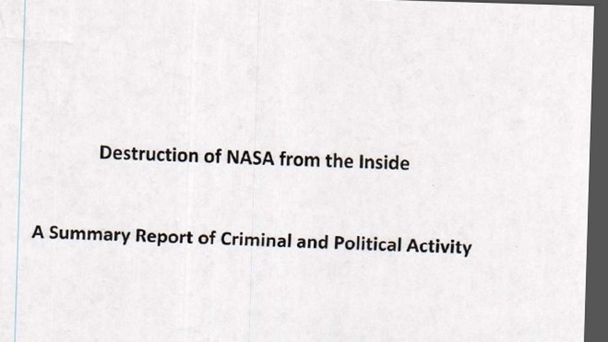 The cover page of a report, obtained by FoxNews.com and purportedly presented to the FBI, alleging that confidential Defense Department missile secrets were leaked to foreign countries.