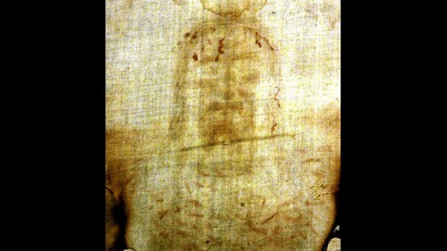 Dec. 8, 2000:  This image shows the Shroud of Turin.