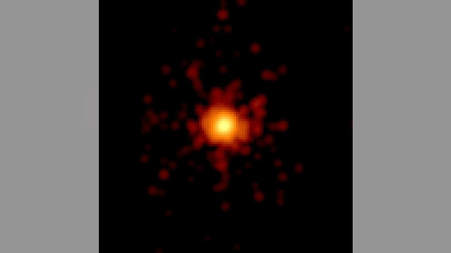 The Swift space telescope caught sight of the most powerful star explosion ever seen. Released May 3, 2013.