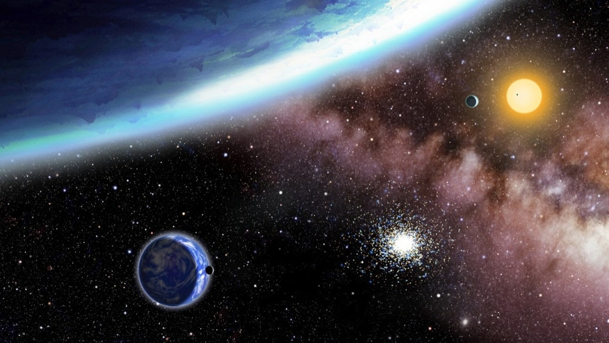Two newly discovered planets named Kepler-62e and -f. Scientists using NASA's Kepler telescope found the distant planets, which they say are in the right place and are the right size for potential life.