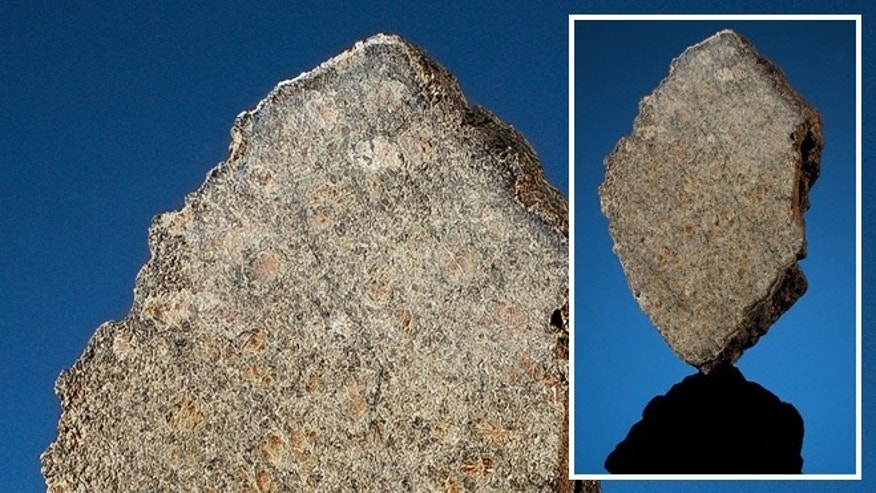 A 1.37 lbs piece of a meteorite from Mars is going up for auction June 2.