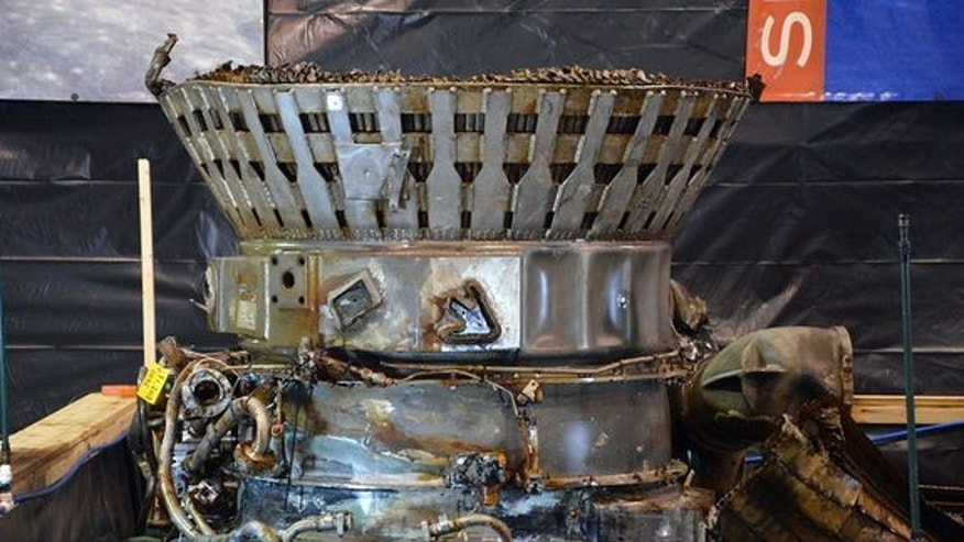 Amazon CEO's Saturn V rocket engines conserved in Kansas | Fox News