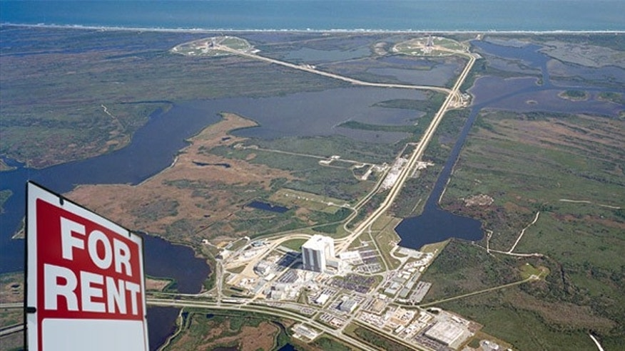 Image: KSCs Launch Complex 39 is strategically located next to a barge site and a variety of structures, including a Vehicle Assembly Building (VAB), Orbiter Processing Facilities (OPF), Press Site, Launch Control Center (LCC), and a crawlerway to the pads.