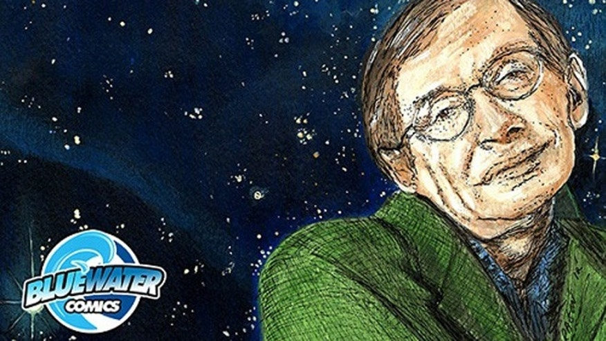 A new comic book gets its action from the tremendous ideas of cosmologist Stephen Hawking.
