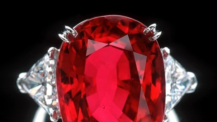 The 23.1-carat Carmen Lucia Ruby, donated to the Smithsonian Institution.