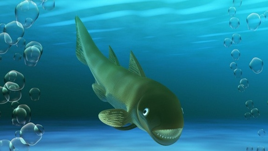 A new species of marine fish, illustrated here, was discovered in Teruel, Spain and lived more than 400 million years ago.