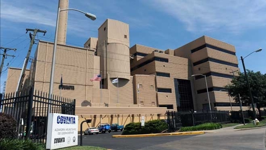 The Alexandria, Va.- facility that handles 5,000 tons of Congressional garbage each year.