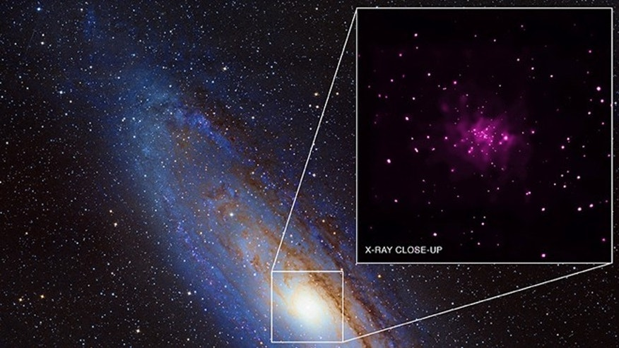 26 new black hole candidates have been spotted in the neighboring Andromeda galaxy.