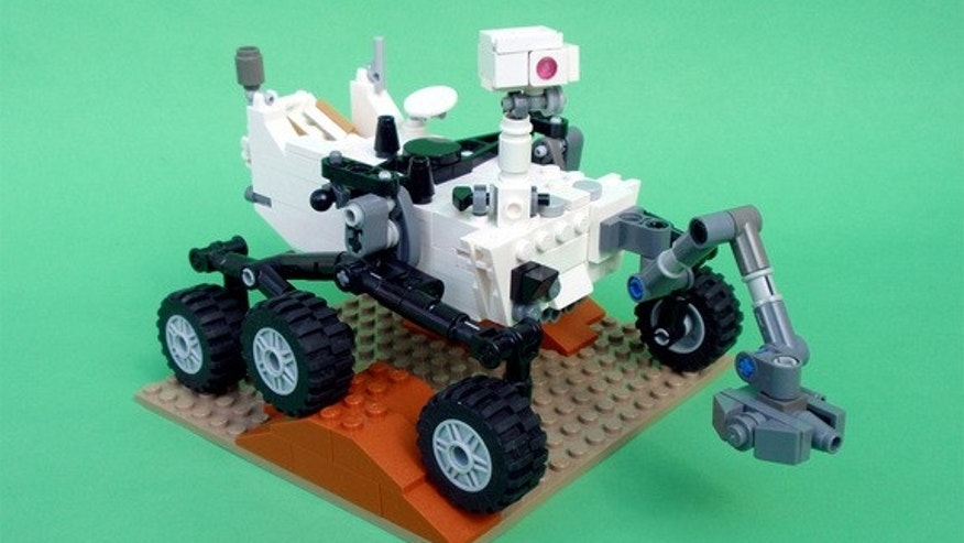 Mechanical engineer Stephen Pakbaz's LEGO version of NASA's Mars Science Laboratory rover Curiosity will be produced as a real LEGO model.