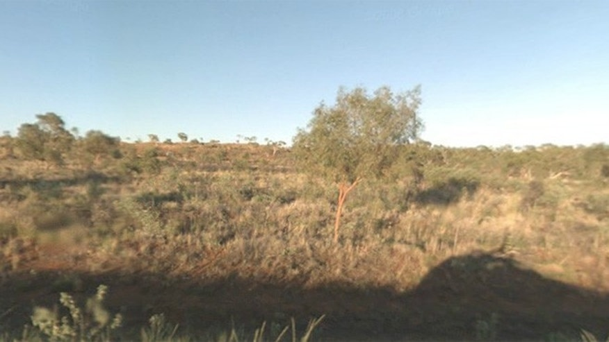 The Tanami Desert near a remote desert community in Australia's Northern Territory where a new language has been discovered.