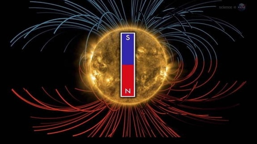 The sun's magnetic field is gearing up to shift, a once in 11 year event, according to NASA officials.