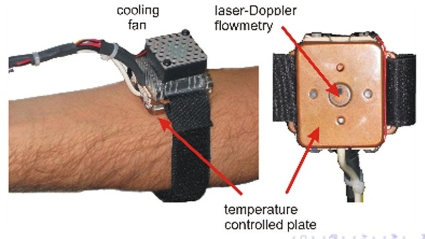 The Endotheliometer is a watch-like device that uses laser technology to evaluate your health conditions.
