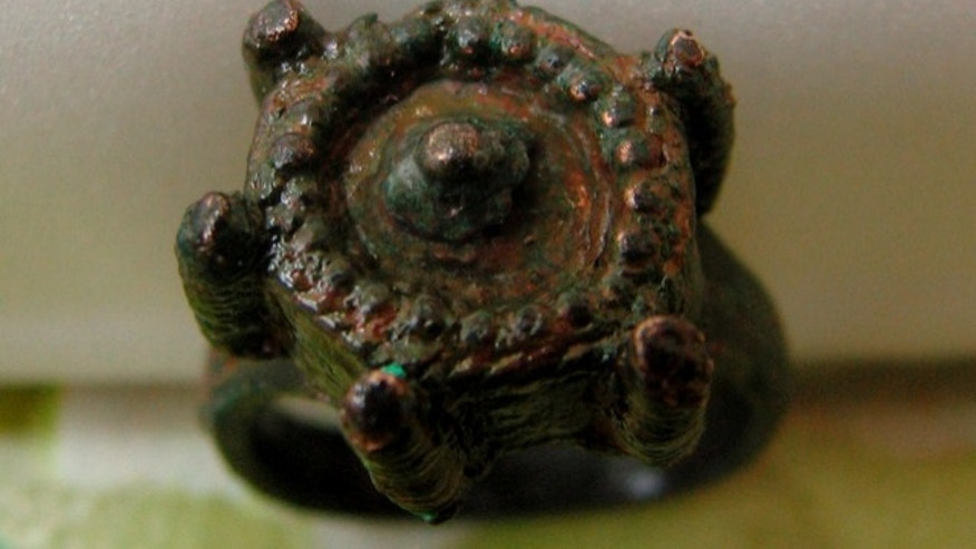 This ring found in Bulgaria is believed to have been a medieval murder weapon.