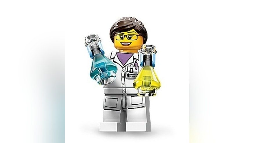 "The ""Scientist"" is one of 16 new Lego people in the company's Minifigure Series 11."