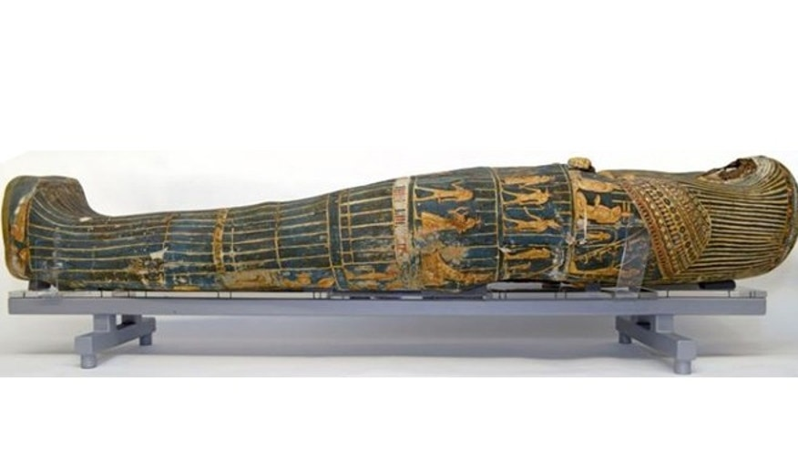 A 3,000-year-old mummy was restored along with the help of Lego.