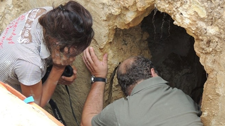 The archaeologists were left breathless by what they found inside.