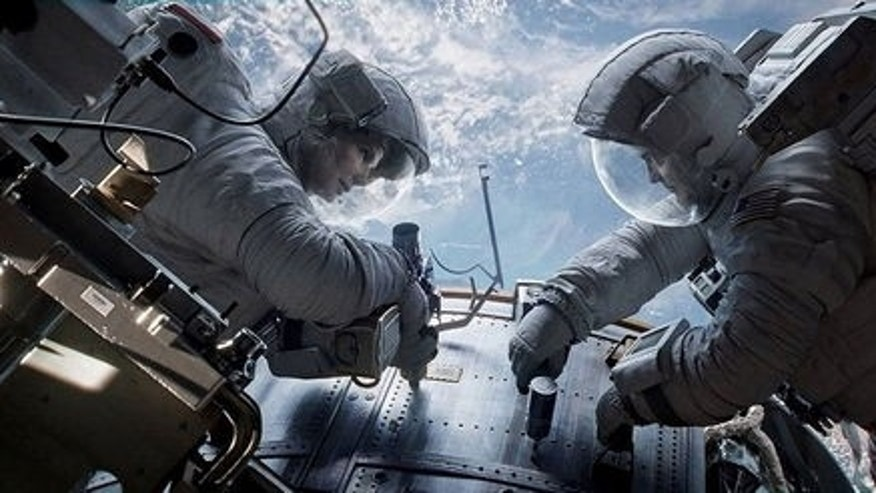 """Gravity,"" starring Sandra Bullock and George Clooney, opened in theaters nationwide on Oct. 4, 2013."