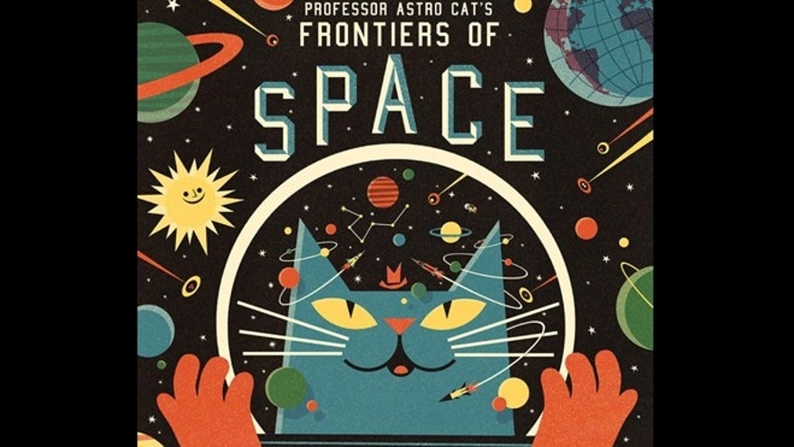 "In the novel ""Professor Astro Cat's Frontiers of Space,"" whimsical illustrations by Ben Newman let a fastidious feline do the talking, teaching kids about gravity, extraterrestrial life, time and other out-of-this-world topics."