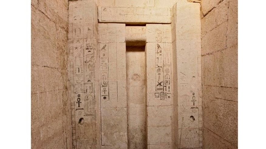 The tomb of Shepseskaf 'ankh, Head of the Physicians of Upper and Lower Egypt who dates to the Fifth Dynasty of the Old Kingdom in Egypt.
