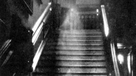 """The Brown Lady,"" one of the most famous photos ever taken, is often cited as photographic evidence of ghosts. But is it real?"