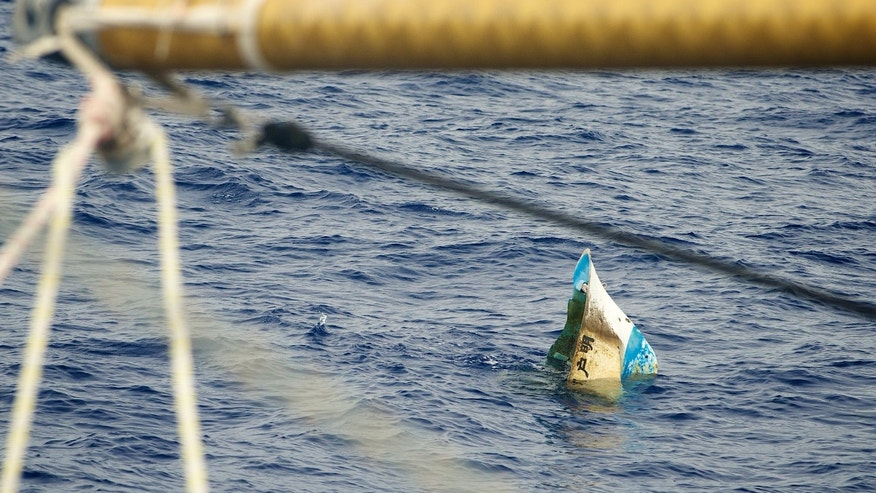 The 5 Gyres Institute, which monitors plastic pollution out at sea, said it found an abandoned boat, a tire, and a traditional Japanese tatami matt floating in the Pacific -- all part of the massive debris field from the tsunami.