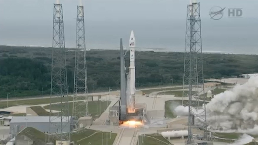 Nov. 18, 2013: NASA's MAVEN spacecraft blasts off aboard an unmanned Atlas V rocket from Cape Canaveral Air Force Station.