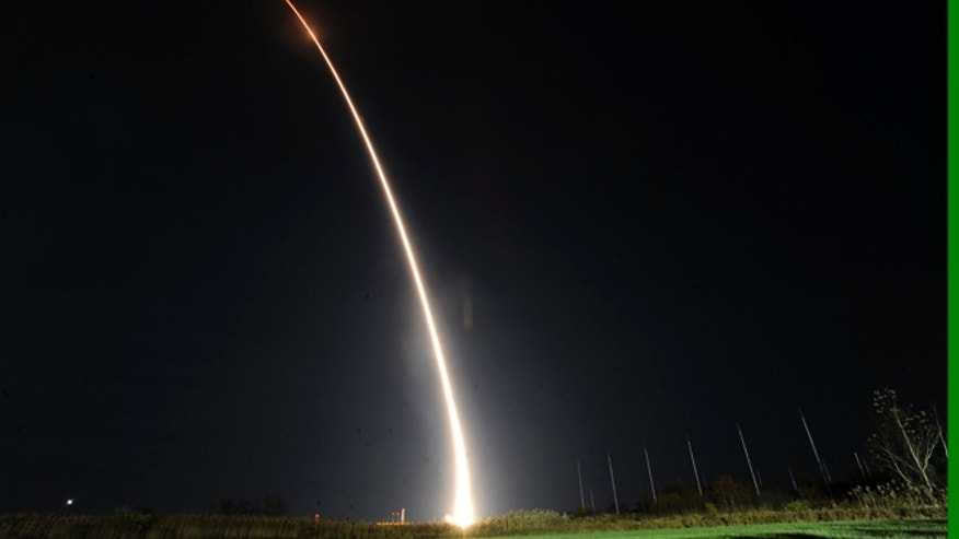 Nov. 19, 2013: Orbital Sciences Corp.'s Miotaur I rocket carrying the Air Force's ORS-3 mission launches from Pad 0B of the Mid Atlantic Regional Spaceport on Wallops Island, Va.