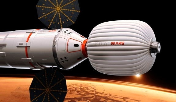 Details of 1st private manned Mars mission revealed