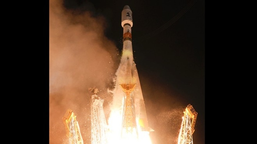 Dec.19, 2013: A Soyuz rocket taking off from the Kourou space base, French Guiana. The European Space Agency successfully launched a satellite named Gaia Thursday in a bid to produce the most accurate three-dimensional map of our part of the Milky Way.